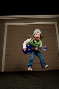 Play it like you mean it! #wow #kids #style #sound