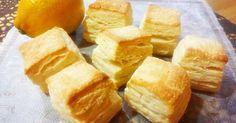 ほのかに香るさわやかなレモン♪ 片栗粉入りでサクサク感アップ↑↑ 食べるときにはちみつをつけて、ハニーレモンスコーン♡