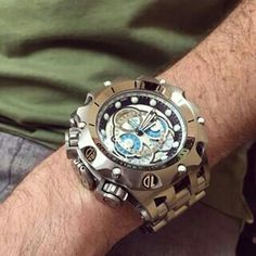 is the only thing that could . Mens Sport Watches, Luxury Watches For Men, Big Watches, Cool Watches, Patek Philippe, G Shock, Devon, La Mode Masculine, Amazing Watches