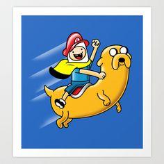 Super Adventure World Art Print by MeleeNinja - $14.56