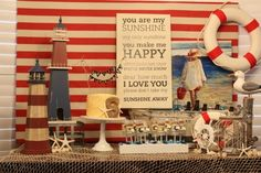 12 Nautical Birthday Party and Baby Shower Ideas - Spaceships and Laser Beams