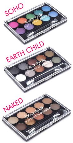 With collections combining beautiful brights to subtle shimmers these palettes are a beautyuk fan must have! Price - 513/-