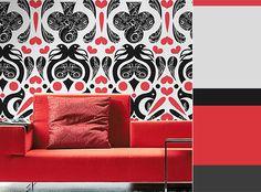 Contemporary Wallpaper Pattern Trends & Inspiration ~ http://clrlv.rs/wl6vDW
