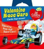 I want a  Peaceable Kingdom / Pop-Out Race Car Super Valentine Card Pack / http://www.holidaygoodness.com/peaceable-kingdom-pop-out-race-car-super-valentine-card-pack/