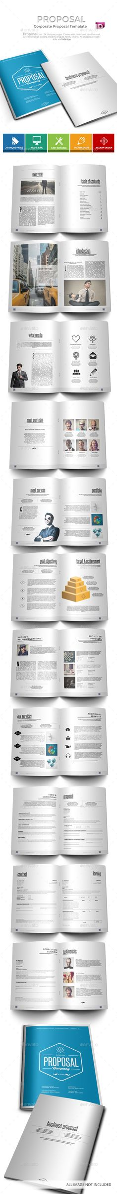Modern Business Proposal Business proposal, Proposals and - download business proposal template