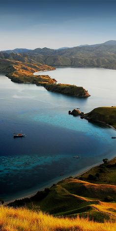 Komodo Island National Park in Indonesia #Ecotourism