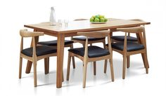 KEW 7 PIECE DINING with LINK CHAIR