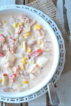 Lobster Corn Chowder.