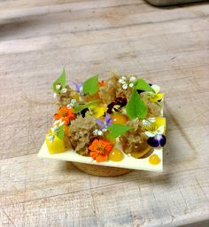 Mango Hazelnut Tart...... by Pastry Chef Antonio Bachour, via Flickr