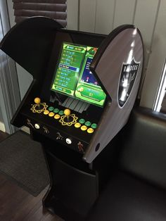 The barbershop I work at got an arcade machine with over 600 games on it.