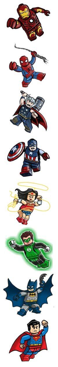 Lego for my super hero crazy Matthew