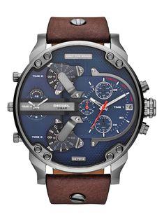Watches Oulm Sport Watch Men Quartz Analog Clock 3 Time Zone Sub-dials Design Big Case Oversize Fashion Black Wrist Watches Relogio Structural Disabilities Quartz Watches