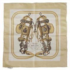 Seidentuch von Hermes, ca. 40 x 40 cm