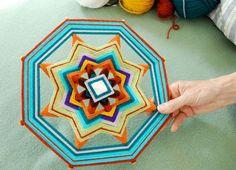 How to make beautiful & complex ojos de dios (etsy blog)