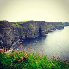Cliffs of moher, Ireland, July  2016
