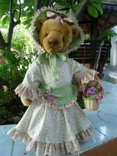 TEDDY BEAR THAILAND. (MADE BY KRU KONG.)