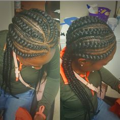 See this hairstyle by @DopeCornrowStyles on Tress • 0 likes