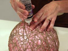 Hemp pendant lamps - Crafty Nest
