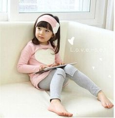 The new spring models Kids Girls love Two -piece long-sleeved suit christmas dress girl dress kids clothes clothing set