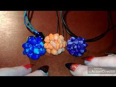 Soft spoken (and with a little gentle tapping with my fake nails) here is Babonga's collection of handmade polymer and glass pendants and amulets. Polymer Clay Pendant, Asmr, Glass Pendants, Washer Necklace, Crochet Necklace, Youtube, Handmade, Color, Jewelry