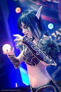 Night Elf, World of Warcraft #cosplay