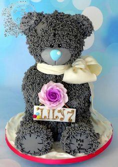 Teddy - Cake by Beata Khoo