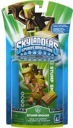 #ToysRus                  #Toys #Action Figures     #stump #weapons #powers #generations #magical #frozen #skylanders #alive #character #adventure #smash #spy #world #pack           Skylanders Spyro's Adventure Character Pack - Stump Smash                     Bring your Skylanders to life! Frozen in our world. Alive in Theirs.                                                                                                                 For Generations, the Skylanders have used their magical…