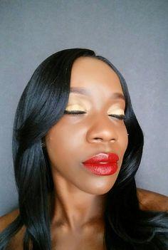 All Eyes   #eyeshadow #makeup #lipstick