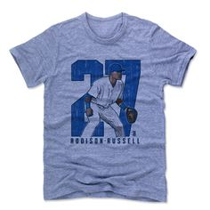 Addison Russell Officially Licensed MLBPA Chicago C T-Shirt Unisex S-2XL Addison Russell Clutch B