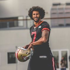 Happy birthday @kaepernick7! Head over to the #49ers app for a gallery of the top photos of 7️⃣ through the years.