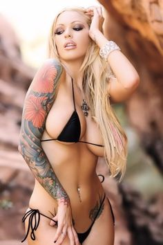 Hot Tattoo | Megan Daniels | More sexy women at sexy-calendars.com #Tattoos see more http://magnificentlives.net/tattoos-4/