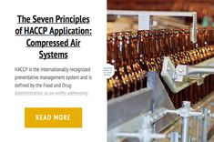 The 7 Principles of HACCP Application: Compressed Air Systems
