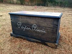Love this wood toy chest. I plan on putting all Wyatt's keepsakes in.  Etsy listing at https://www.etsy.com/listing/174991224/large-kids-toy-chest-wooden-chest