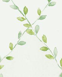 Tapet Spring Trellis Green från Sanderson