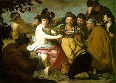 Velázquez. El triunfo de Baco o Los Borrachos. Museo del Prado.