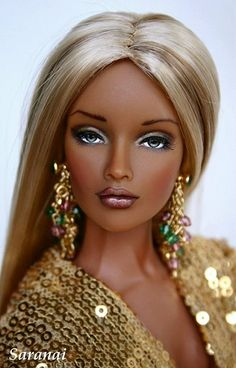 People may say that this doll looks like a real person. But our world is so messed up that the people changed THEMSELVES to look like a doll.