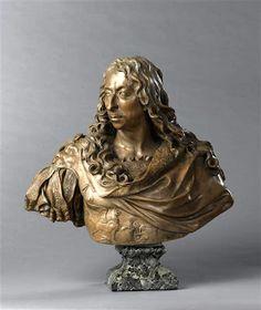 Antoine Coysevox (1640-1720) : Buste du Grand Condé