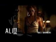 """Jennifer Garner as Sydney Bristow (""""Alias"""") - opening credits of show during, I think, the 4th season.  I like the montage of Aliases done by Sydney."""