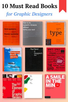 10 Must Read Books for Graphic Designers Graphic Design Lessons, Graphic Design Books, Book Design Layout, Graphic Designers, Design Basics, Web Design, Portfolio Book, Branding Portfolio, Portfolio Layout