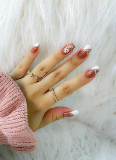 Fancy Nails Designs, Nail Art Designs, How To Do Nails, My Nails, Super Nails, Stylish Nails, Nail Arts, Manicure And Pedicure, Nail Inspo