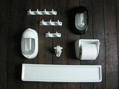 Bathroom Shelf Ceramic White Tinsmiths Linen And Cotton Fabrics Lighting Curtains