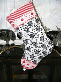 Owl Christmas Stocking!