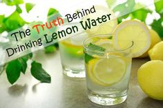 What is the Healthy Way to Drink Lemon Water?