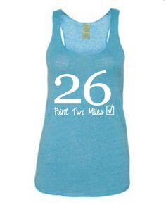 marathon shirt for women's: Running On The Wall