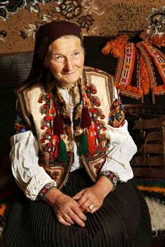 A lovely Hutsul baba in the Carpathian mountains. (Why are people so up in arms over women wearing the hijab? (Islamic headscarf) Almost all communities have at least some history of hair covering - and many of these traditions are alive and well today.