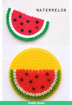 Watermelon #cute #simple #yumyum #food #beads