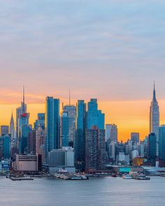Gorgeous shot of New York's skyline from New Jersey.