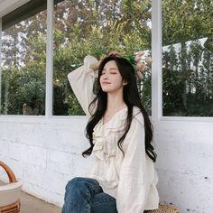 Pretty Korean Girls, Cute Korean Girl, Pretty Asian, Asian Girl, Mode Ulzzang, Ulzzang Korean Girl, Korean Beauty, Asian Beauty, Fashion Models
