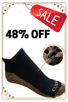 """IT IS THE ONLY """"NO-SHOW"""" DIABETIC COPPER SOCKS AVAILABLE IN MARKET TODAY. Thus you can wear this with confidently without compromising your style.  #coppersocks #socks #diabeticsocks #runningsocks"""