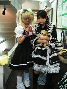Two Japanese Lolitas